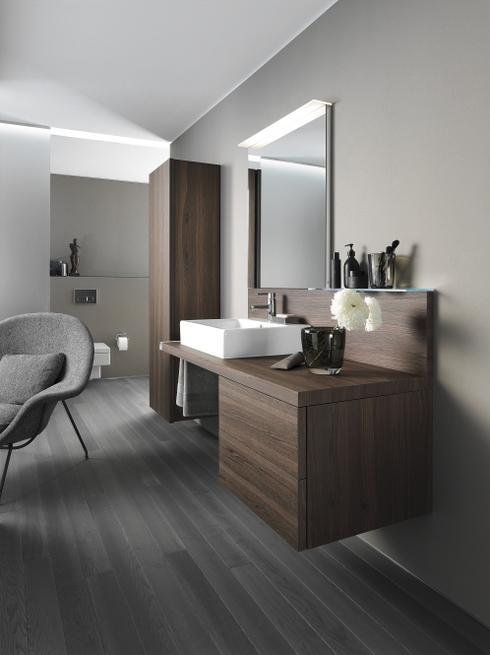 Kąpiel w salonie - nowoczesna aranżacja łazienki