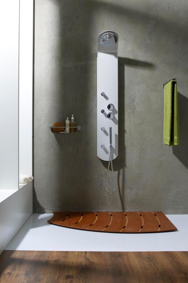 Designerskie panele prysznicowe. Aranżacje nowoczesnej łazienki