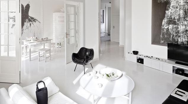Styl minimalistyczny. Aranżacja salonu