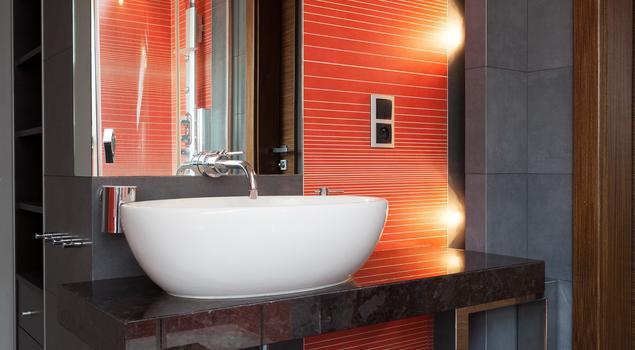 Nowoczesna łazienka Aranżacja łazienki Na Poddaszu