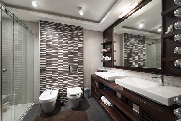 Zobacz Galerię Zdjęć Jak Zaprojektować łazienkę Brązowa
