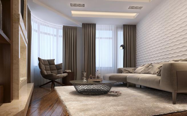 Aranżacja małego salonu w stylu nowoczesnym