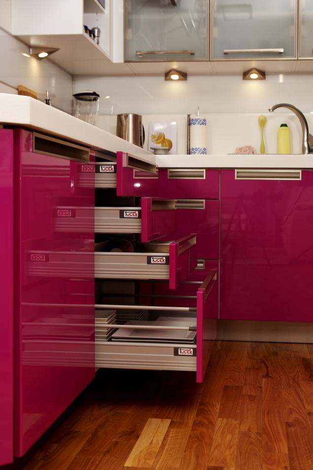 Zobacz galerię zdjęć Mała kuchnia w bloku Nowoczesna kuchnia  Stronywnętrza pl -> Mala Kuchnia W Bloku Inspiracje