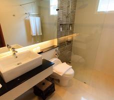 Mała łazienka. Nowoczesne wnętrze
