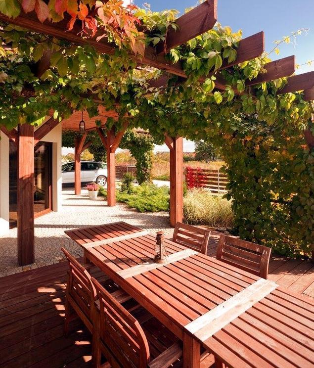 Zobacz galerię zdjęć Meble tarasowe Drewniane meble ogrodowe na