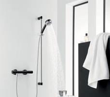 KLUDI ZENTA. Wnętrze indywidualne – łazienka black & white