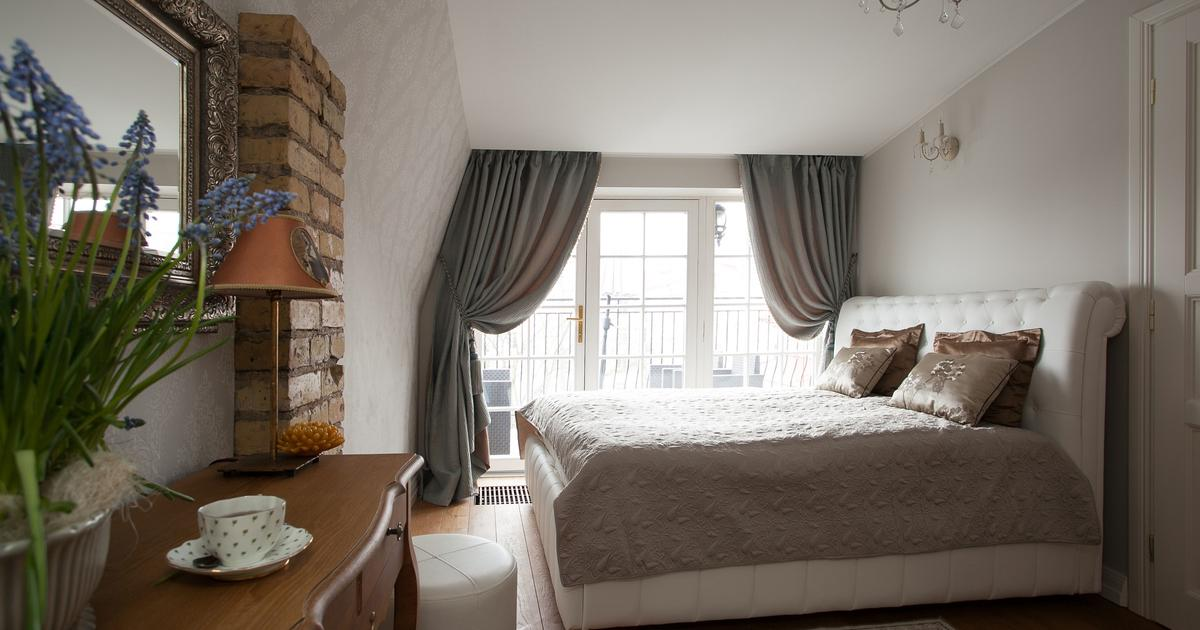 jak urz�dzi� sypialnię styl eklektyczny