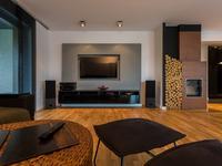 Aranżacja salonu - nowoczesne wnętrze