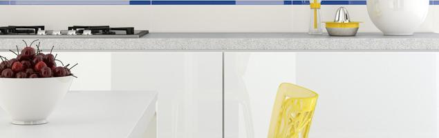 Postaw na szkło w kuchni lub łazience