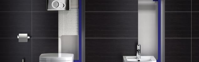 Wygoda i komfort w łazience – nowoczesna łazienka z podwieszaną miską toaletową