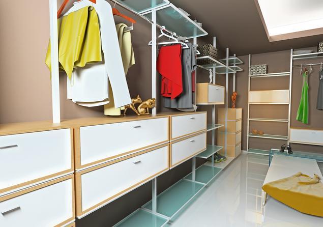 Garderoba w sypialni – aranżacje garderoby różnej wielkości