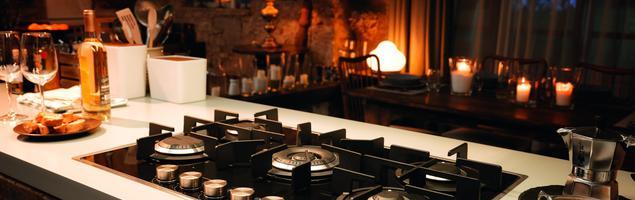 Jesień w kuchni z płytą gazową Franke