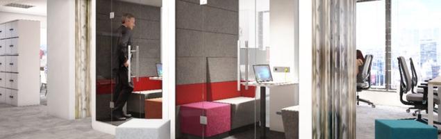 Nowa odsłona systemu #Hush od Mikomax Smart Office – funkcjonalne wyposażenie biura