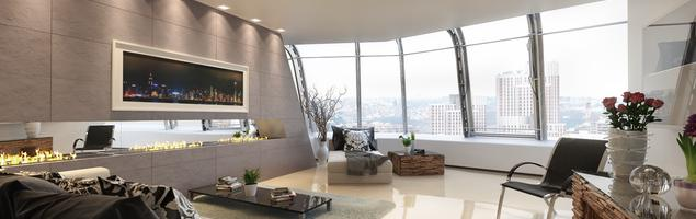 Minimalistyczne wnętrza – mieszkanie w wielkomiejskim stylu